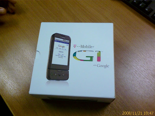 Google G1 Android phone in Greece