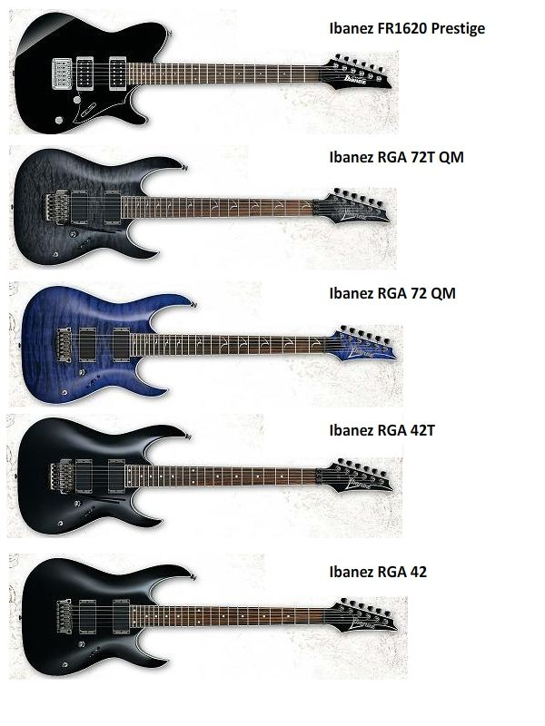 WTS] Ibanez Guitars 2011 Collections