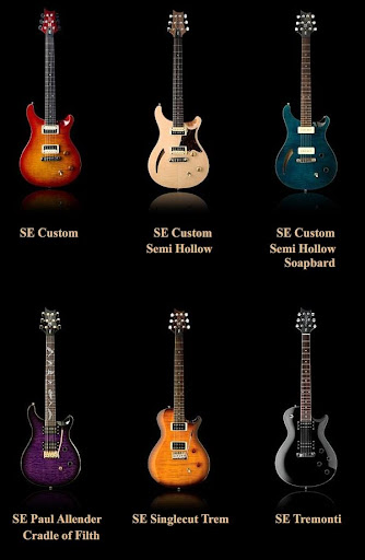 DeadEye Guitars PRS SE series guitars New Guitars