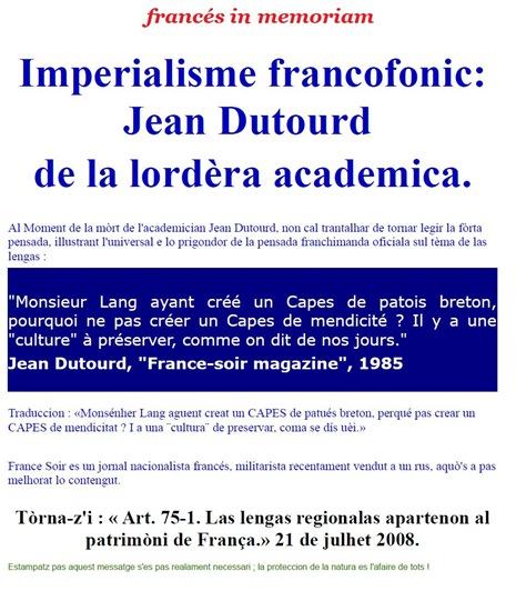 francés in memoriam