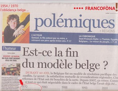l'oblidança belga francofòna