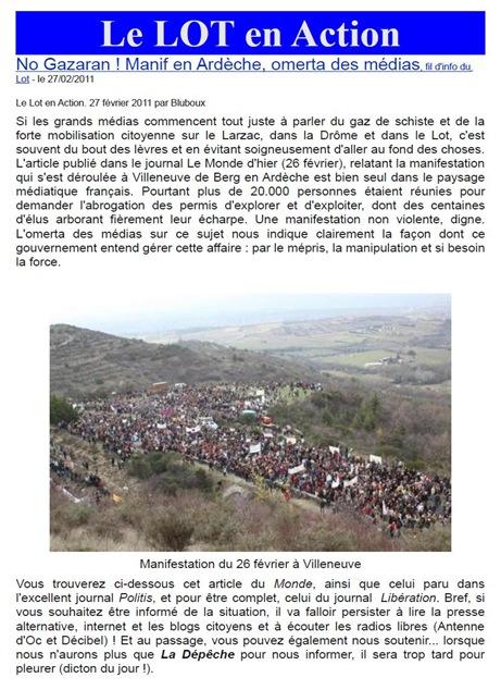 manifestacion de Vilanòva de Berg Lot en Action 270211