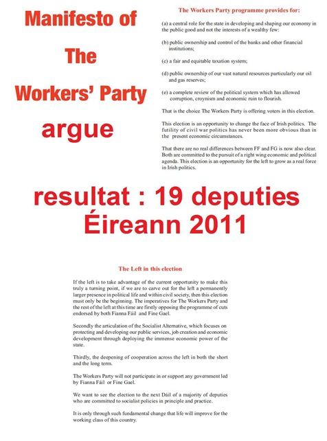 Worker's Party in Éireann