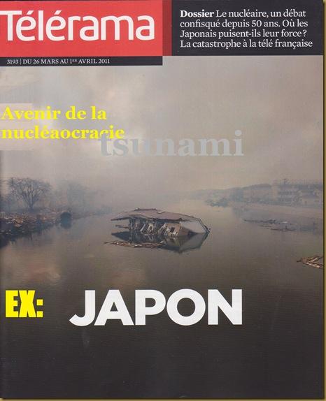 portada télérama Japon