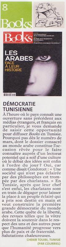 Books e Tunísia e democracia abrial 2001