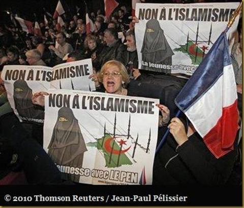 non a l'islamisme en provença