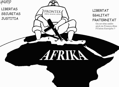 Hachfeld-Afrika-Frontex comentat