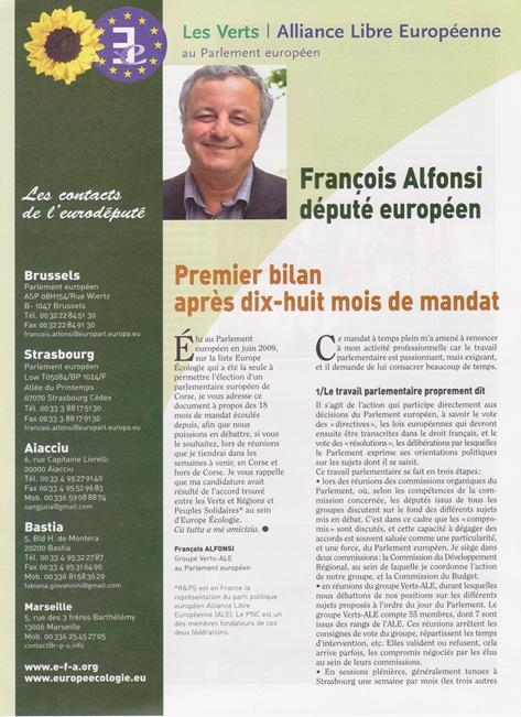 François Alfonsi (1) dètz e uèit meses