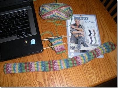 Spiral Sock 001