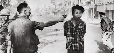 execution of a viet cong guerrilla