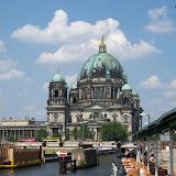 Vy över Spree mot Berliner Dom