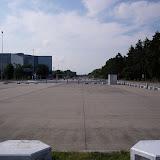 Här börjar Große Straße. Nästan 2 kilometer granit, 40 meter bred