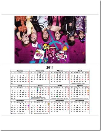 calendario turma