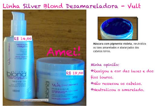 silver blond vult