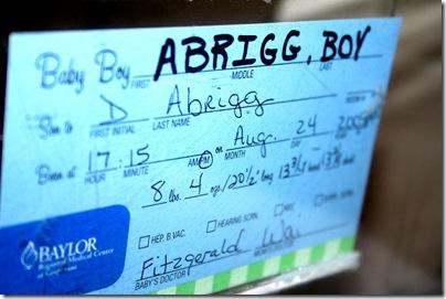 Baby Titus Garrett Abrigg 018