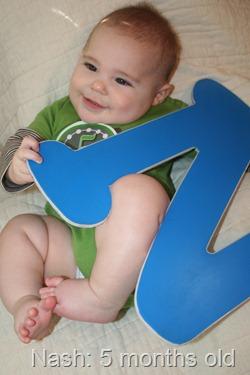 Nash 5 months old 068
