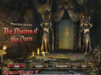 Mystery Legends: The Phantom of the Opera Em português