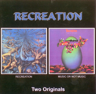 Recreation ~ 1971 ~ Recreation + 1972 ~ Music Not Music