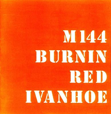 Burnin' Red Ivanhoe ~ 1969 ~ M144