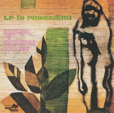 Barimar E Capricorn College ~ 1974 ~ LP di Primavera