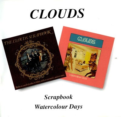 the Clouds ~ 1969 ~ Scrapbook + 1971 ~ Watercolour Days