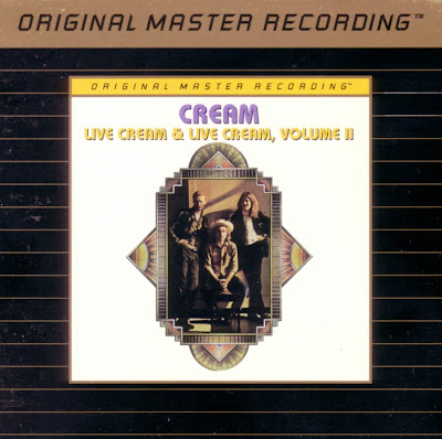 Cream ~ 1970 ~ Live Cream + 1972 ~ Live Cream Vol. II