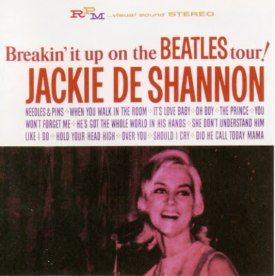 Jackie Deshannon ~ 1964 ~ Breakin' It Up on the Beatles Tour!