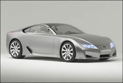 Lexus_LFA_Concept Front_Passenger_Side_View