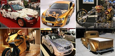 10 Absolutely incredible bling-bling vehicles  00
