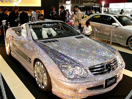 10 Absolutely incredible bling-bling vehicles  01