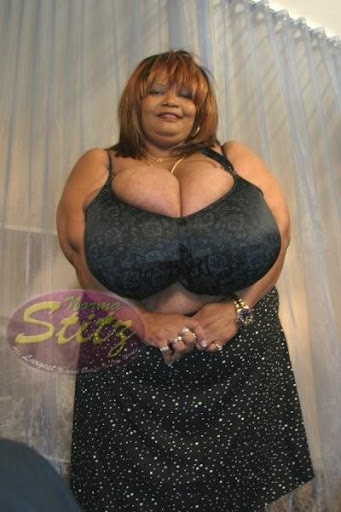 Worlds Largest Natural Breasts......Norma Stitz - Black ...