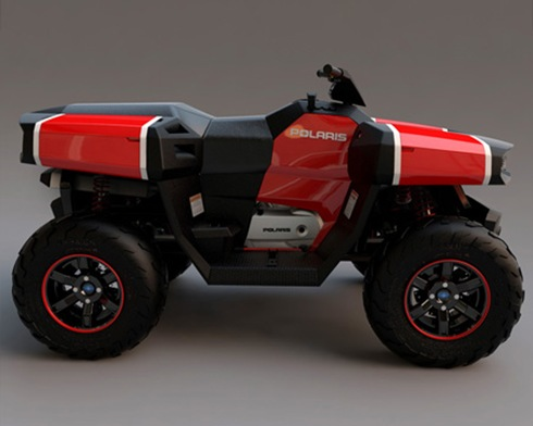 Polaris 4WD ATV
