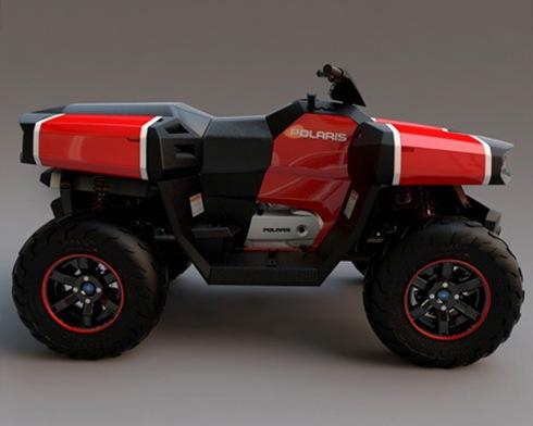 Polaris 4WD ATV