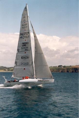 L'Hydroptere Sailboat
