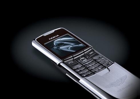 Nokia 8800 Aston Martin