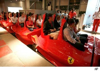 The World's Fastest Rollercoaster Formula Rossa