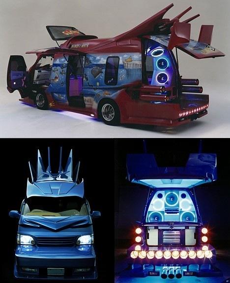 Strange Japanese Custom Vans 01