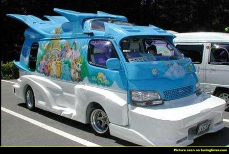 Strange Japanese Custom Vans 13