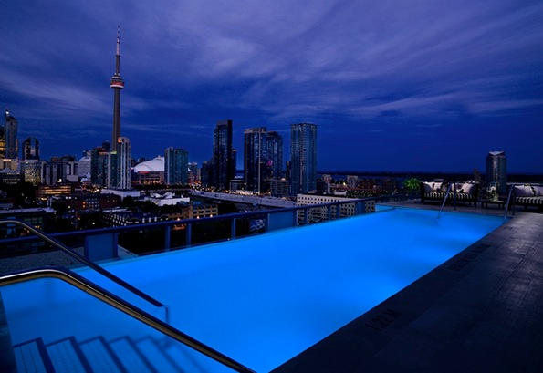 Thompson Toronto Hotel Pool