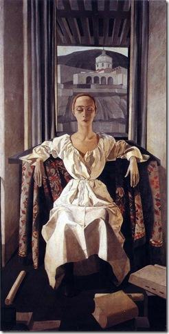 Felice Casorati, Portrait of Silvana Cenni, 1922