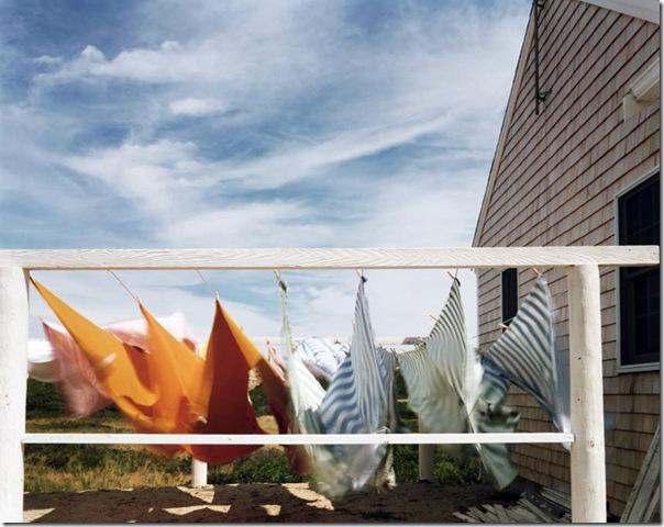 joel meyerowitz - Laundry Cape Cod  1982