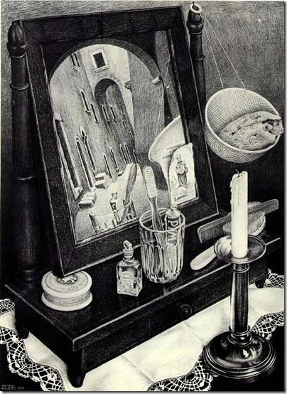 M. C. Escher - mirror