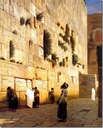 Solomon's Wall, Jerusalemoil on canvas92 x 73 cm