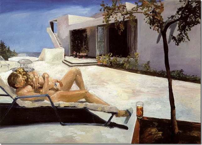 eric fischl -DADDY'S GIRL, 1984.