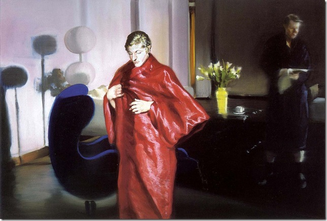 eric fischl -Krefeld Project Living Room Scene 4, 2002.