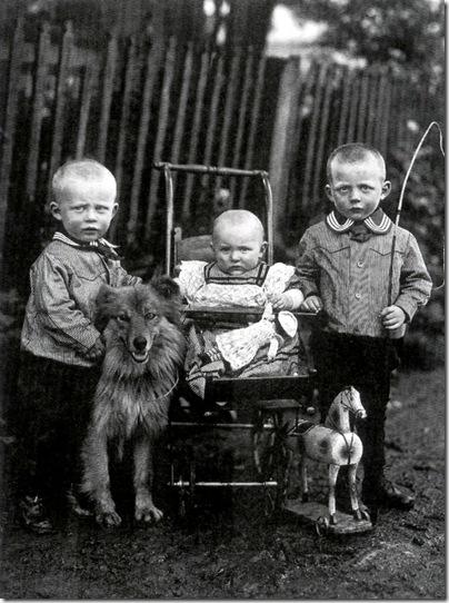 August Sander - Niños Campesinos Westerwald 1912