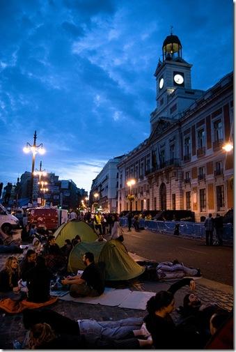 Sapanish revolution - acampada sol