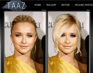 stylized avatar form or real models photographed