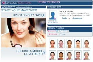 Most have the ability to import your own photo onto the site