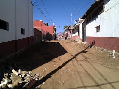 Inician obras en el centro de Mazamitla